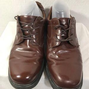 Nunn Bush Mens Sz10M Leather Oxford#A155